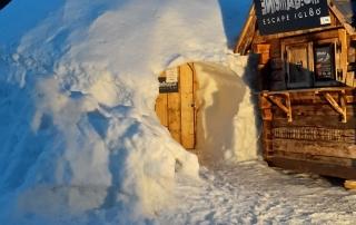 escape igloo room
