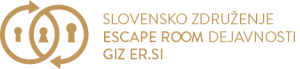 slovensko zdruzenje escape room dejavnsti giz er si