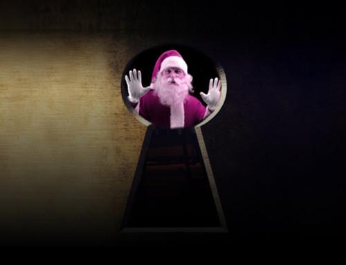 Zaklenili smo Božička! Kaj pa zdaj?