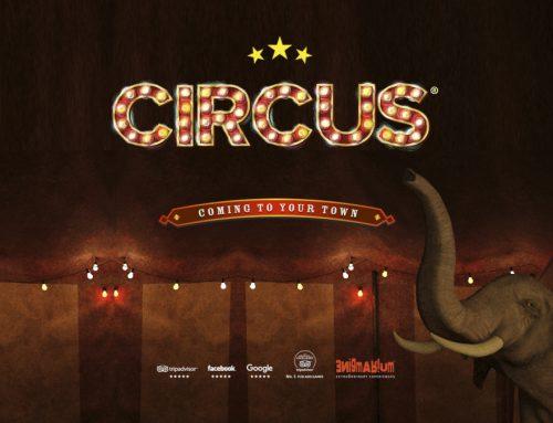 Postani prvak escape roomaratona in prvi odigraj novo sobo pobega: Cirkus®!