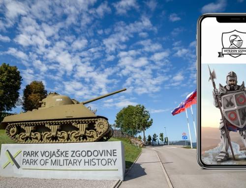 Nova igrificirana doživetja s področja kulturnega turizma v Parku Vojaške Zgodovine v Pivki!